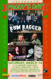 Paddy's Day with Rum Ragged and Guests - March 16, 2019